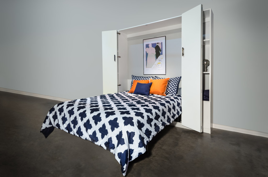 Dreamsaver murphy bed open
