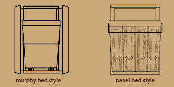 murphy & panel bed dallas