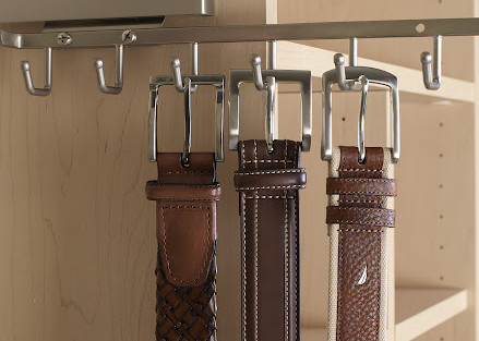 More Space Place closet belt rack