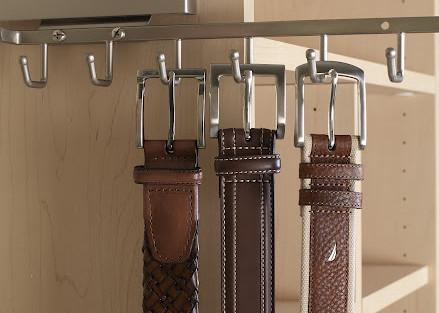 More Space Place closet belt rack