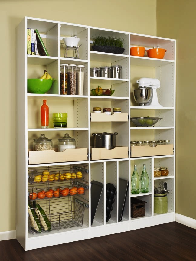 Pantry Organization - More Space Place