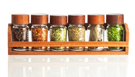 More Space Place designers can create the perfect custom spice rack for your organized pantry.