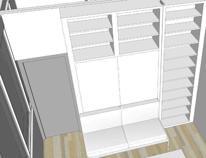 More Space Place Dallas bed design