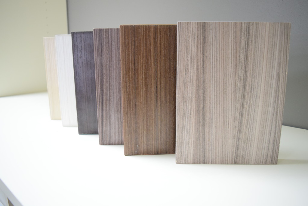 Custom finishes for closets and cabinetry