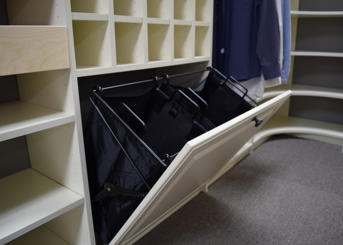 closet laundry hamper
