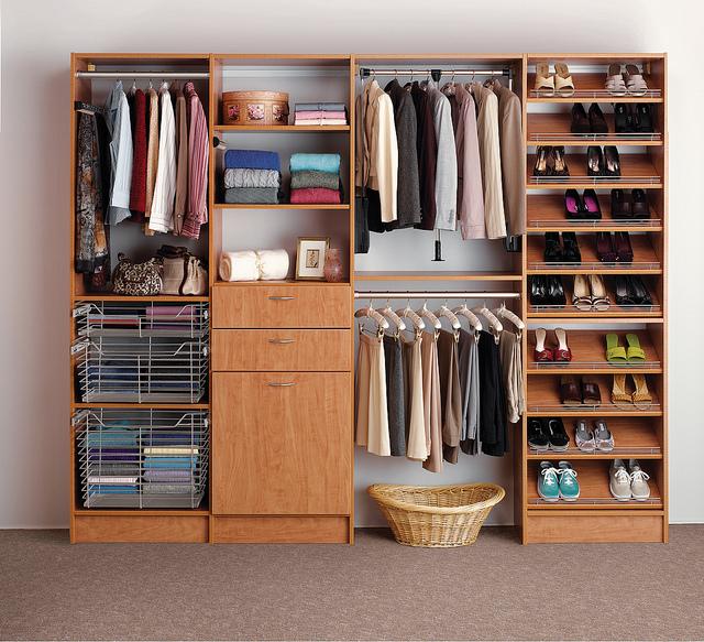custom closet Dallas