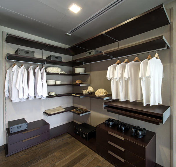 Closet organization in Dallas