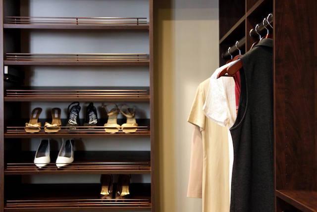 Dark Custom Closet Dallas