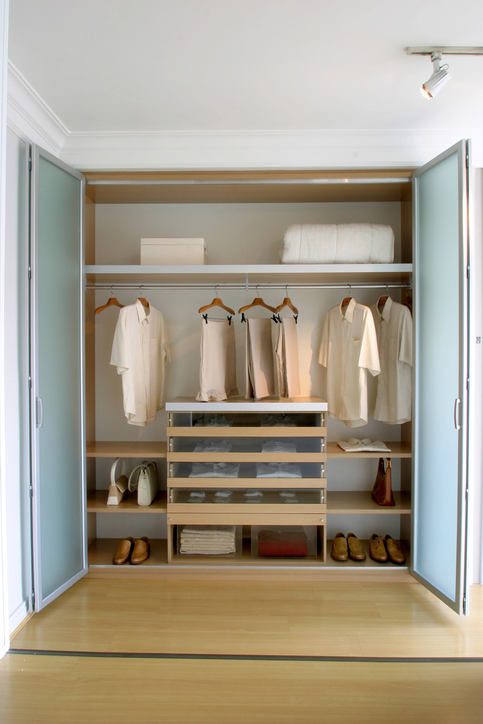 small closet storage tips more space place dallas