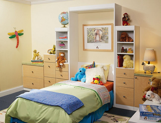 Kids Murphy Bed More Space Palce