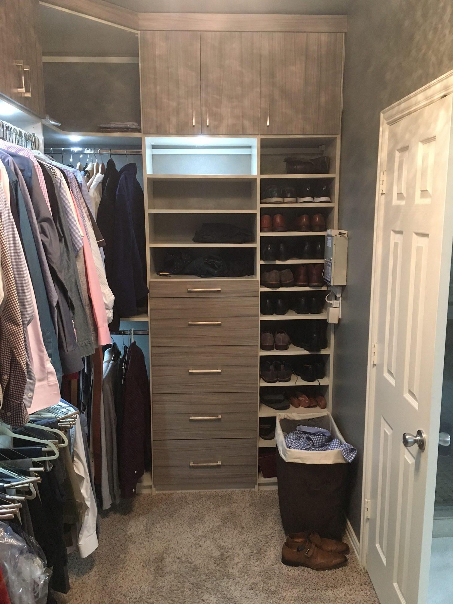 Dallas boutique closet