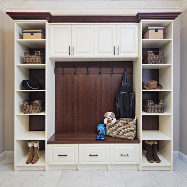 Custom Mudroom More Space Place Dallas