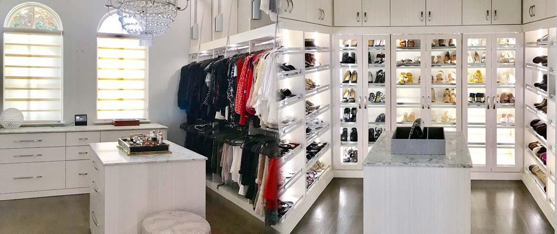 Stylish Closet Organization